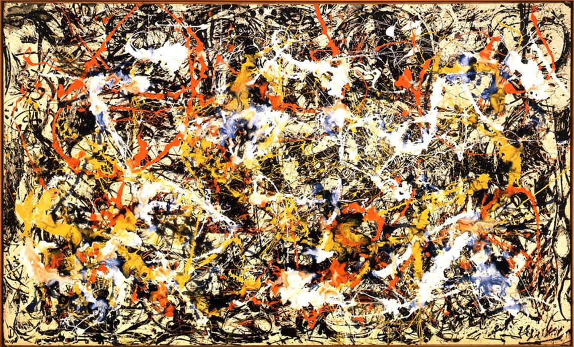 jackson-pollock-convergence-1952
