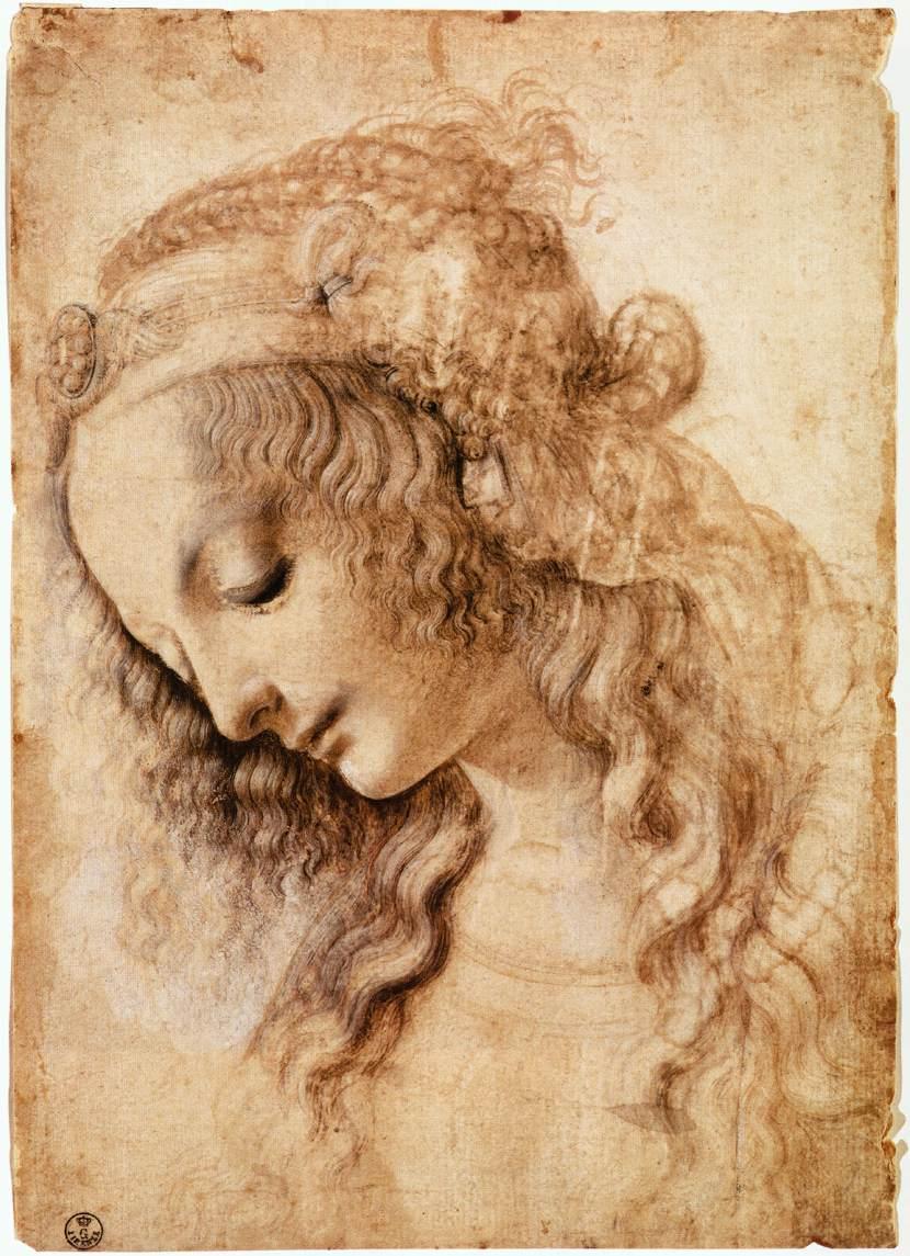 Leonardo_da_Vinci_-_Woman's_Head_-_WGA12746