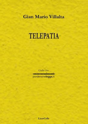 Gianmario Villalta Telepatia copertina1piatta